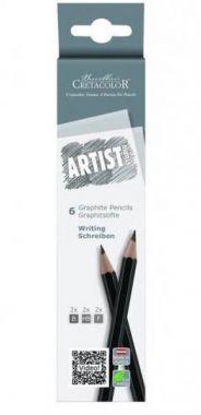 Cretacolor Artist Studio - Tekenpotloden 6 stuks