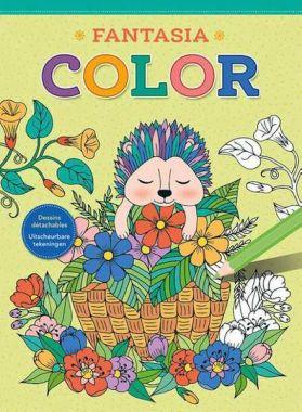 Deltas - kleurboek Fantasia Color