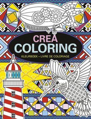 Deltas kleurboek - Crea Coloring Book