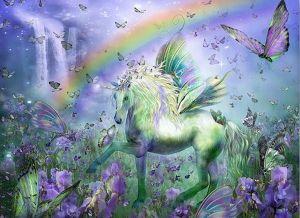 Diamond Painting - Unicorn Rainbow