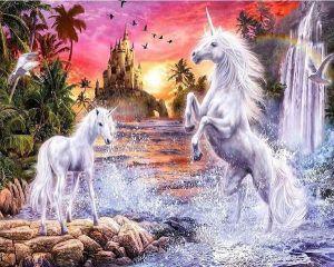 Diamond Painting - Unicorn Paradise