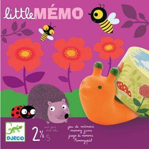 Djeco spel - Little Memo Dieren