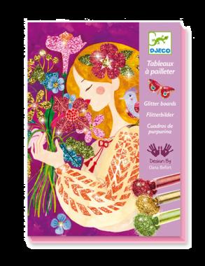 Djeco knutseldoos glitter - Het Bloemenparfum