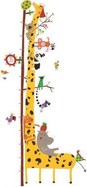Djeco Groeimeter ~  Giraf & vrienden van de Amazone