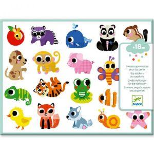 Djeco grote stickers - babydieren