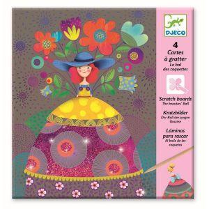 Djeco kraskaarten - Schoonheden Bal
