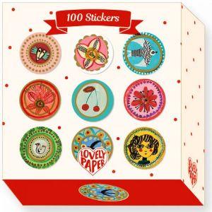 Djeco 100 stickertjes - Aurelia