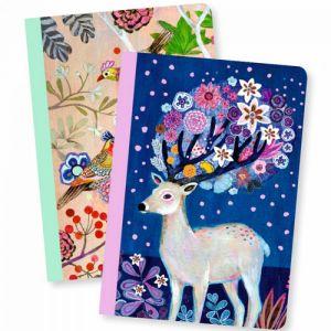 Djeco set 2 notitieboekjes - Martyna