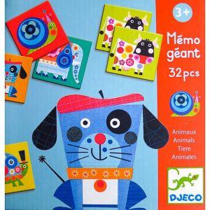 Djeco spel - Memory Vrolijke Dieren