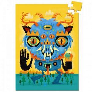 Djeco mini puzzel - Het Monster