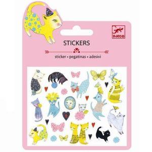 Djeco mini stickers - Poesjes