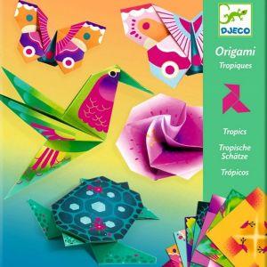 Djeco origami - Tropische dieren