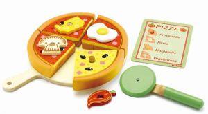 Djeco houten speelgoed - Pizza in doos