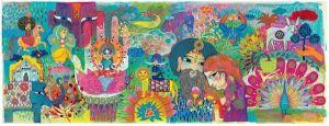 Djeco puzzel - Magisch India (1000 stukjes)