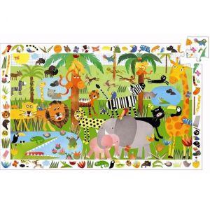 Djeco Puzzel - Jungle (35 stukjes)