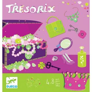 Djeco kinderfeestje - Tresorix schat zoeken prinses