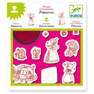 Djeco knutselen - Stempels Prinsessen
