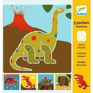 Djeco Sjablonen - Dinosaurussen
