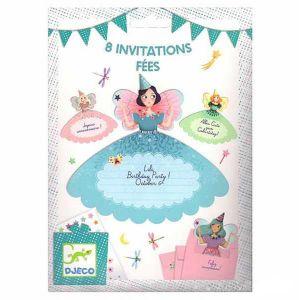 Djeco uitnodigingen - Feeën
