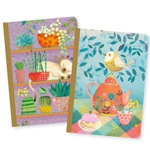 Djeco set 2 notitieboekjes - Marie