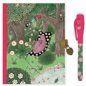 Djeco dagboek met magische pen - Fanny