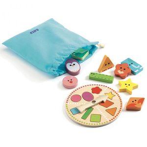 Djeco spel - Tactilobasic
