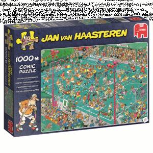 Jan van Haasteren puzzel - Hockey Kampioenschappen (1000)