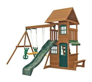 Kidkraft houten speeltoestel - Windale