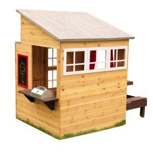 Kidkraft houten speelhuis - Modern Outdoor