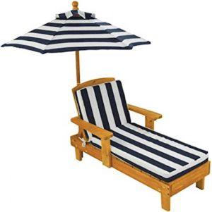Kidkraft ligstoel met parasol