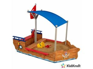 Kidkraft houten zandbak - piratenboot