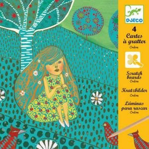 Djeco kraskaarten - Waternimf Ondine