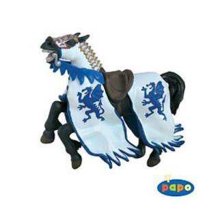 Papo figuur - Paard Drakenkoning Blauw