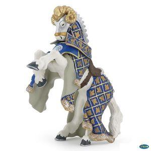 Papo figuur - Paard Ridder Wapenmeester Ram