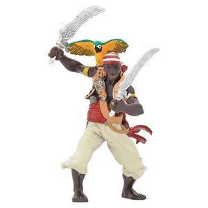 Papo figuur - Piraat met Papegaai en Sabel
