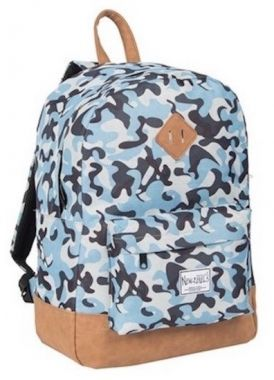 New Rebels rugtas / rugzak camouflage Army Blue
