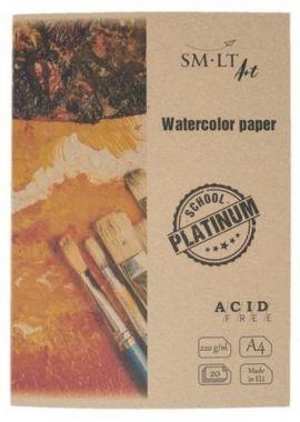 SMLT - Aquarelpapier A4 220gr 20 vel Wit