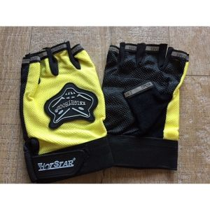 Sporthandschoenen stuntstep - geel (one size)