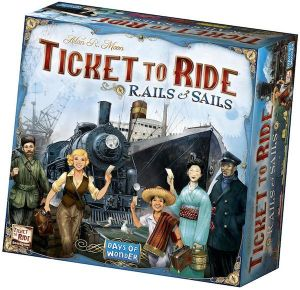 Ticket to Ride Rails & Sails *PRE ORDER*