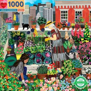 Eeboo puzzel - Urban gardening 1000st.