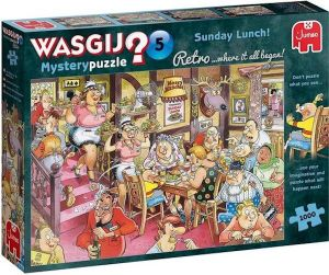 Wasgij  Retro Mystery 5 - Zondagse lunch! (1000)